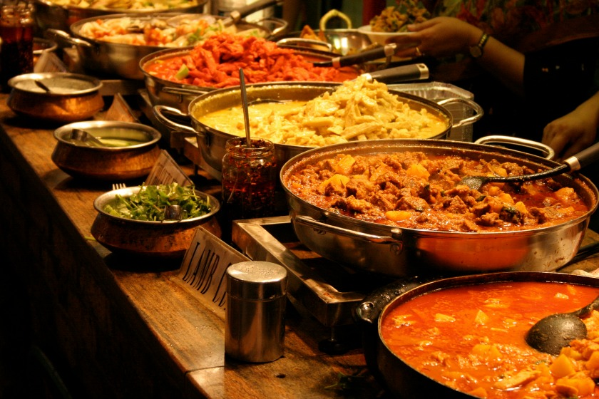Indian Food Includes Dishes Made With Curry