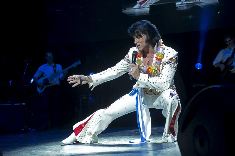 Bill Cherry is one of the three Elvis tribute artists to perform.