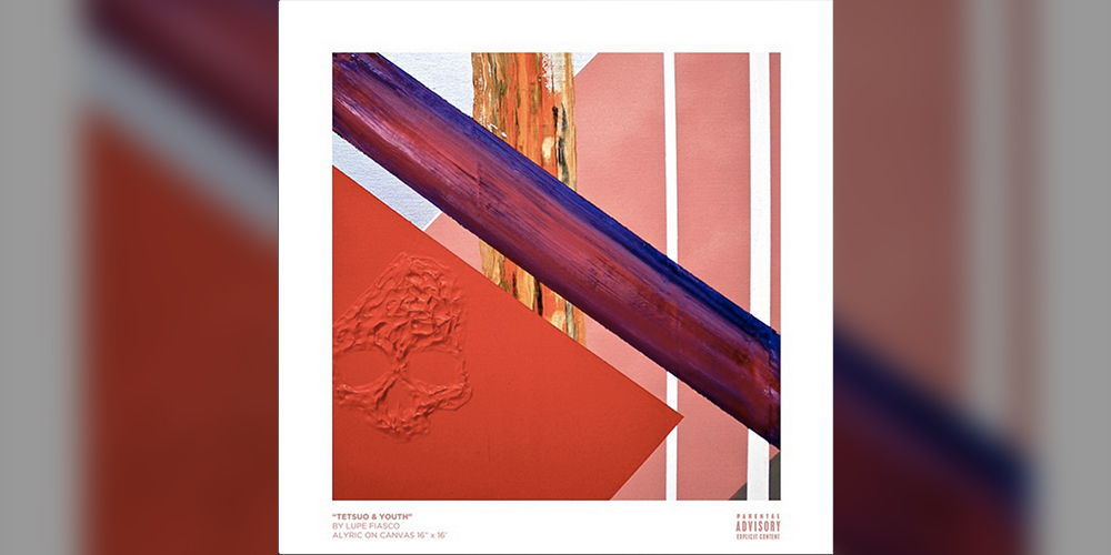 Tetsuo & Youth album cover art by Lupe Fiasco