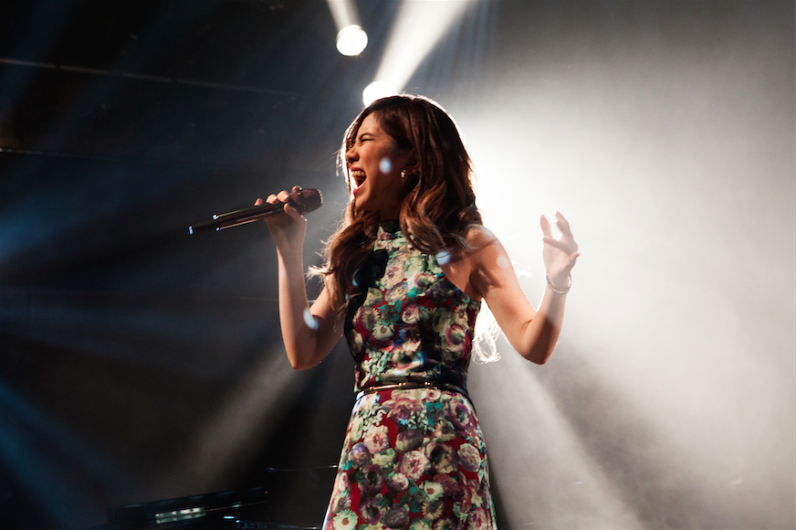 G.E.M. performing at House of Blues