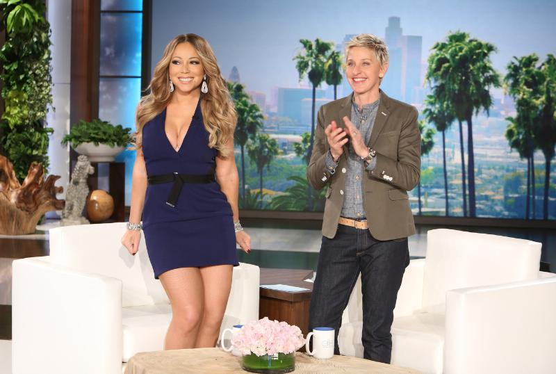 Mariah Carey announces Las Vegas residency on The Ellen Degeneres show on Jan. 15, 2015.
