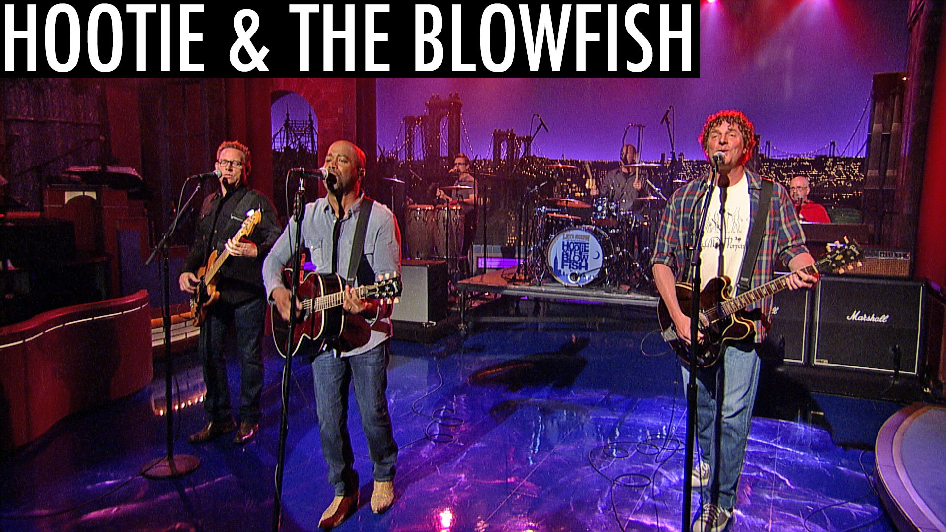 Hootie The Blowfish Reunite For Late Night Performance On