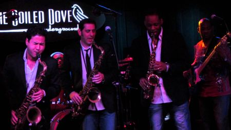 Contemporary Jazz trio Sax Pack takes the stage in style