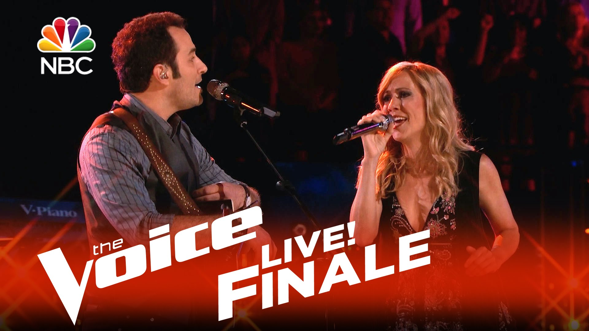 Sheryl Crow joins Joshua Davis for duet on 'The Voice' finale