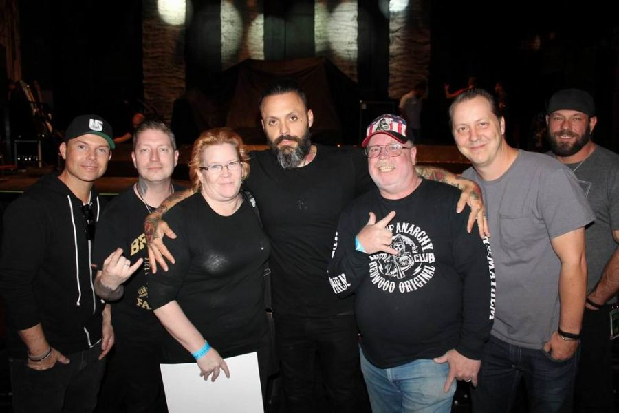 Blue october make their triumphant return to missoula axs meet and greet antics with blue october before the show m4hsunfo