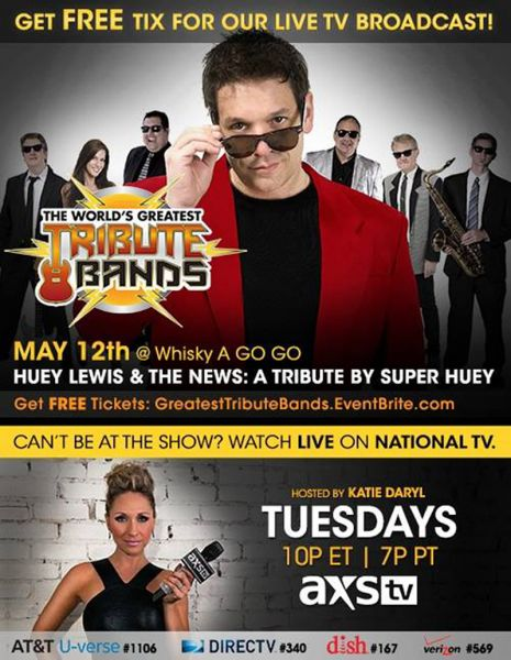 Super Huey performs on AXS TV The World's Greatest Tribute Bands