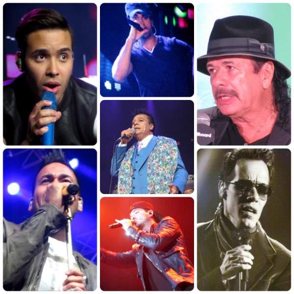 Seven Latin artists up for a Billboard Music Award - Prince Royce, Enrique Iglesias, Carlos Santana, Romeo Santos, Juan Gabriel, Marc Anthon