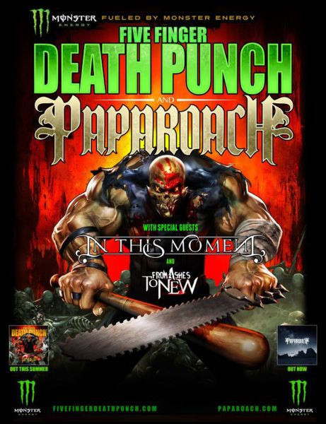 Five Finger Death Punch Us Tour : august release for five finger death punch album massive tour this autumn axs ~ Russianpoet.info Haus und Dekorationen