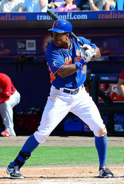 Curtis Granderson was plunked just days before Opening Day