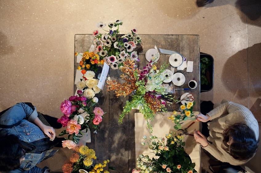 The market celebrates food, fashion and art