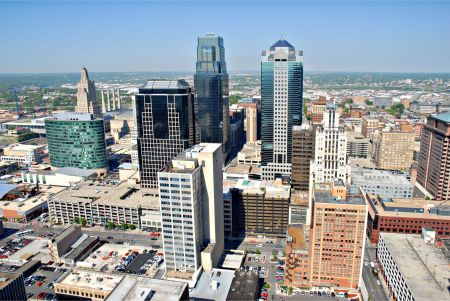 Come see the beautiful Kansas City skyline, grab a drink or two, and listen to your favorite musical acts this summer! This view is spectacu