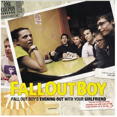 One of Fall Out Boy's earliest releases was the 2002 mini-LP Evening Out with Your Girlfriend, which featured a very strong sampling of