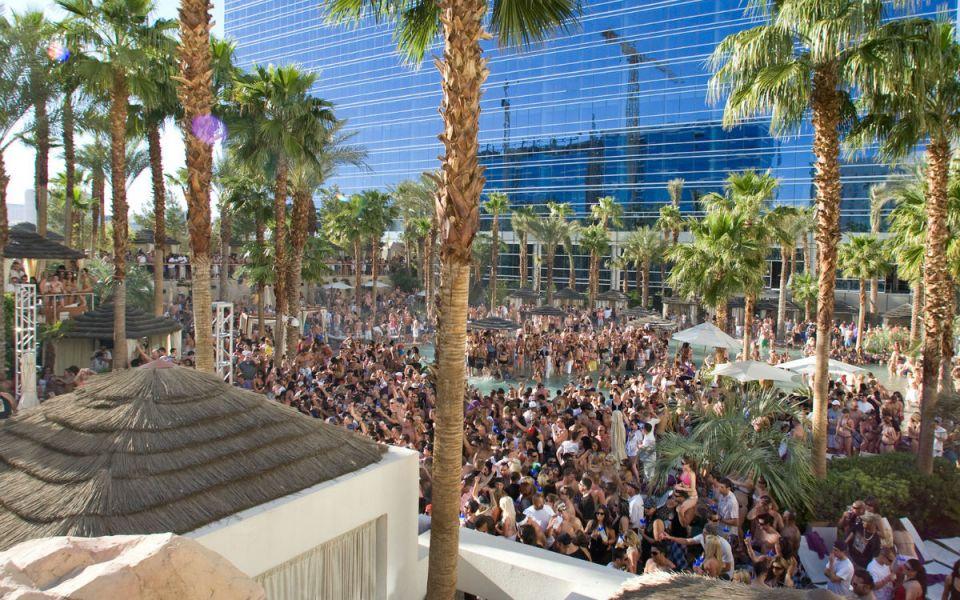 Rehab Pool At Hard Rock Hotel Las Vegas