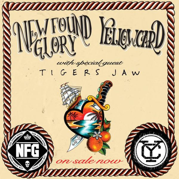 KGRG presents New Found Glory, Yellowcard and Tigers Jaw live at Seattle's Showbox