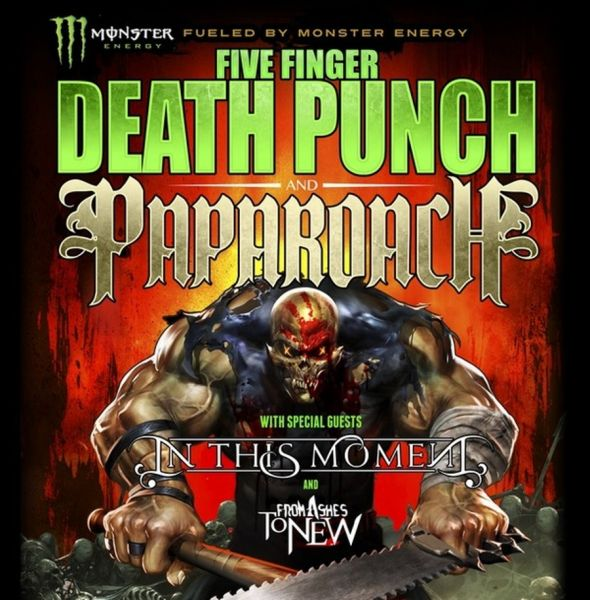 Papa Roach Announces Upcoming Tour With Five Finger Punch