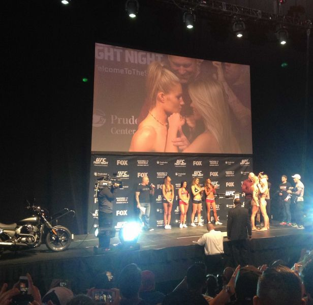 Paige VanZant is hoping to fight at UFC 191