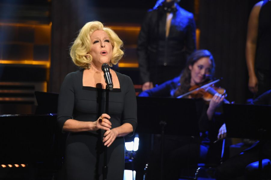 Musical icon Bette Midler