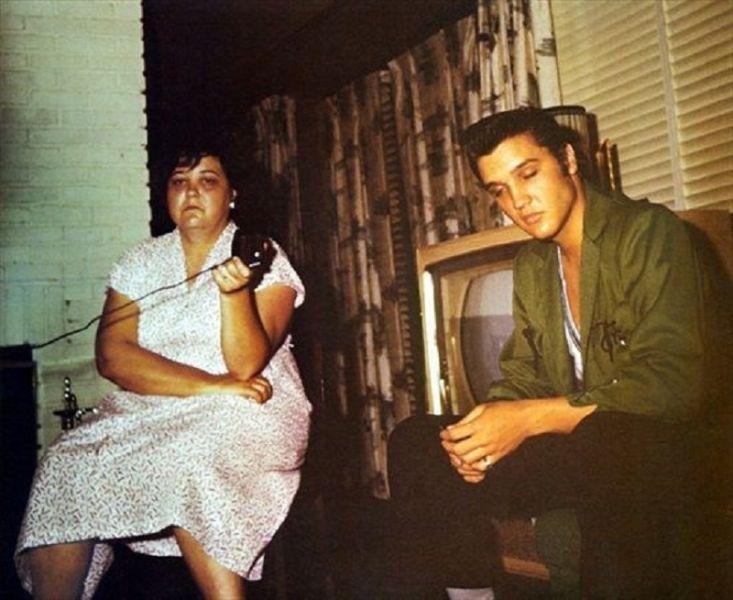 Gladys Love Presley, mother of Elvis Presley, had a beautiful singing voice according to Harold Loyd, her nephew.