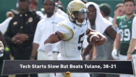 Justin Thomas has Georgia Tech playing at another level