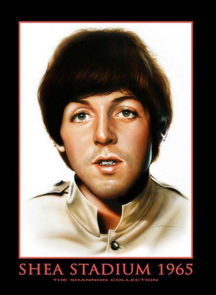 A Paul McCartney Shea Stadium portrait by Beatles artist Shannon, who'll appear at Danbury Fields Forever.