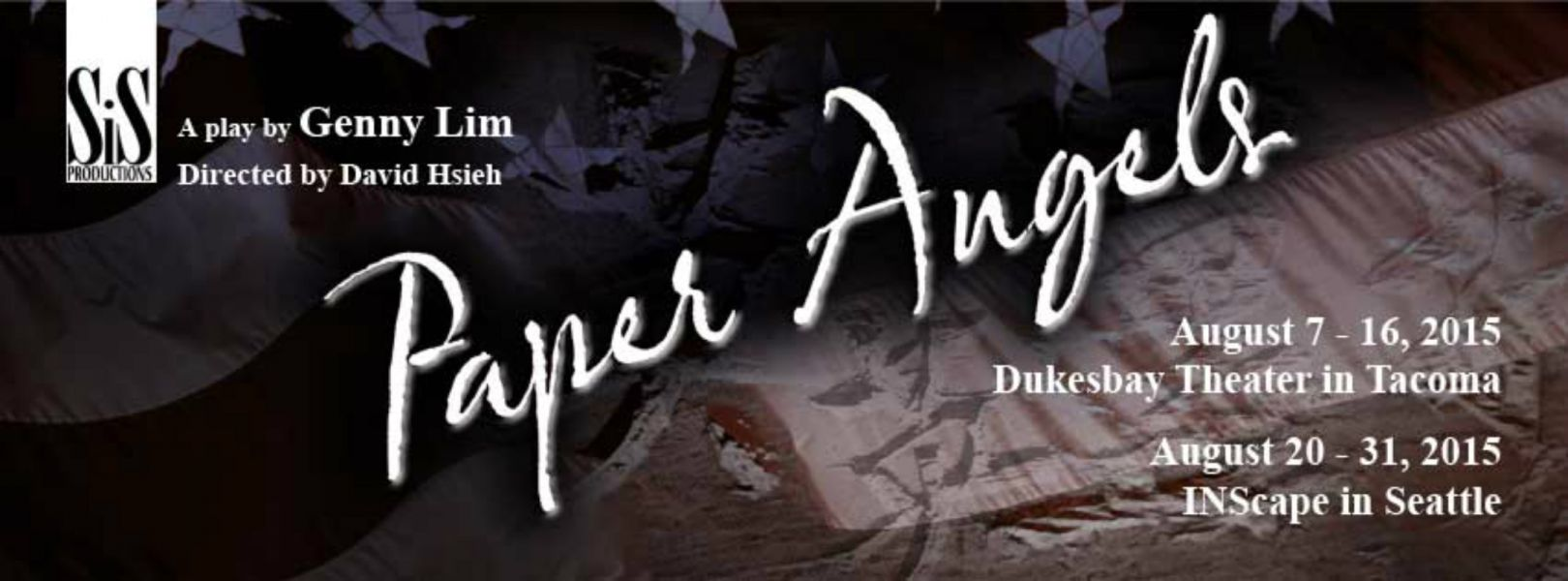 """SIS Productions presents """"Paper Angels"""" Aug. 6-17 at Dukesbay Theater in Tacoma"""