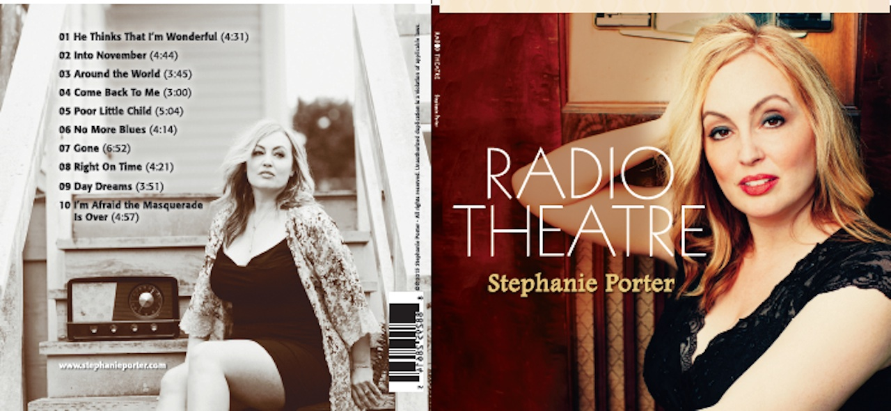 "Five years after her jazz standards album, ""How Deep Is The Ocean,"" Seattle songbird Stephanie Porter releases the next step in her evolutio"