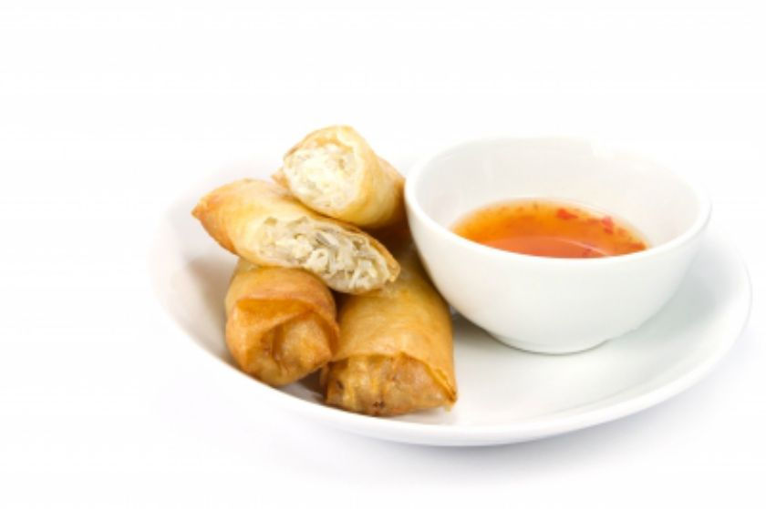 Spring Rolls Is A Por Chinese Dish