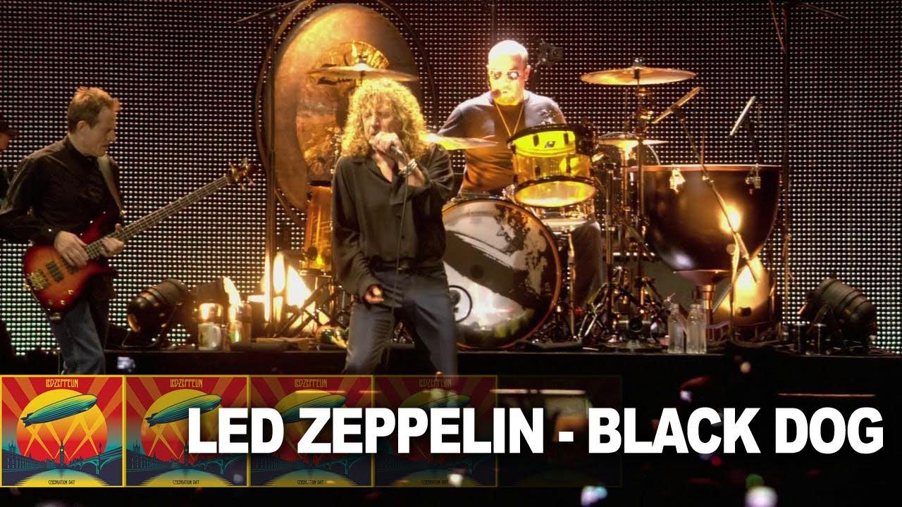 Led Zeppelin Black Dog Live Video Youtube