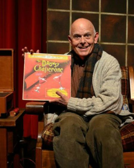 """If he had just been a man in a chair during """"The Drowsy Chaperone"""" Nelson Spickard couldn't have been an award winner. But, as"""