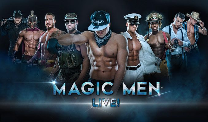 MAGIC MEN LIVE! tickets at The Warfield in San Francisco