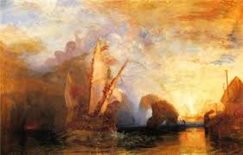 Seascape By JMW Turner
