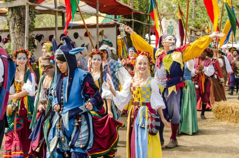 Renaissance Fairs: Northern California Renaissance Faire Opening Day Is Sept