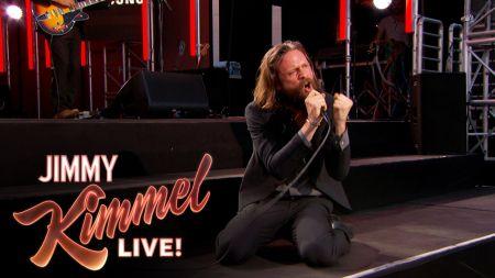 Watch Father John Misty perform 'The Ideal Husband' on 'Jimmy Kimmel Live'