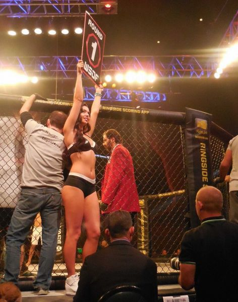 Emily Miller made history at World Series of Fighting 24