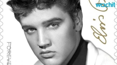 Elvis Presley tops the charts again