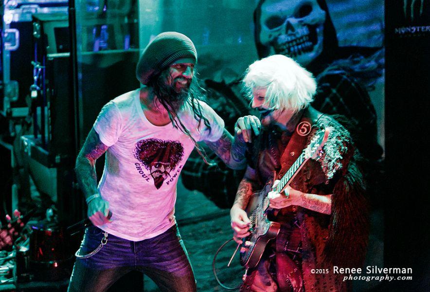John 5 + Rob Zombie