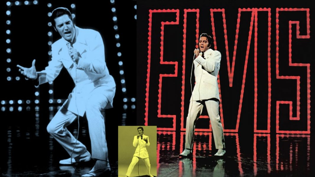 "Elvis Presley's climatic finale on his 68 Comeback Special was ""If I Can Dream."""
