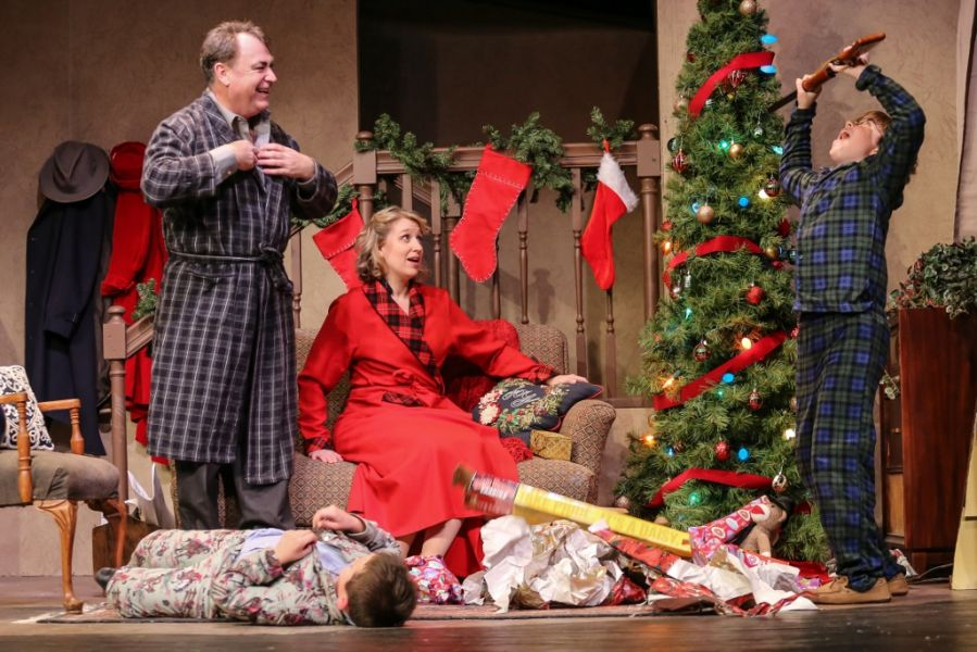 tacoma little theater stages holiday fun with a christmas story - What Channel Is A Christmas Story On