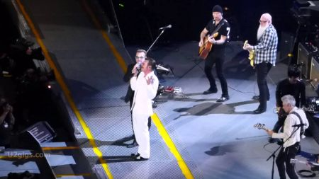 Eagles of Death Metal Join U2 for their HBO special in Paris