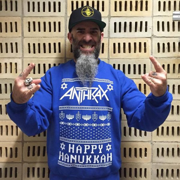 the best heavy metal holiday sweaters - Metal Christmas Sweater
