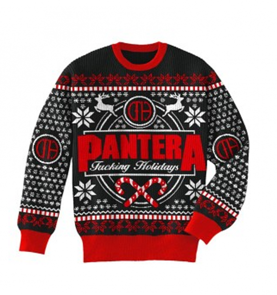 testament ugly xmas sweater photo 66 - Metal Band Christmas Sweaters