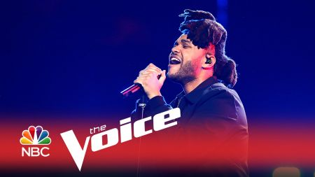 The Weekend performs his hit singles live on 'The Voice' season 9 finale