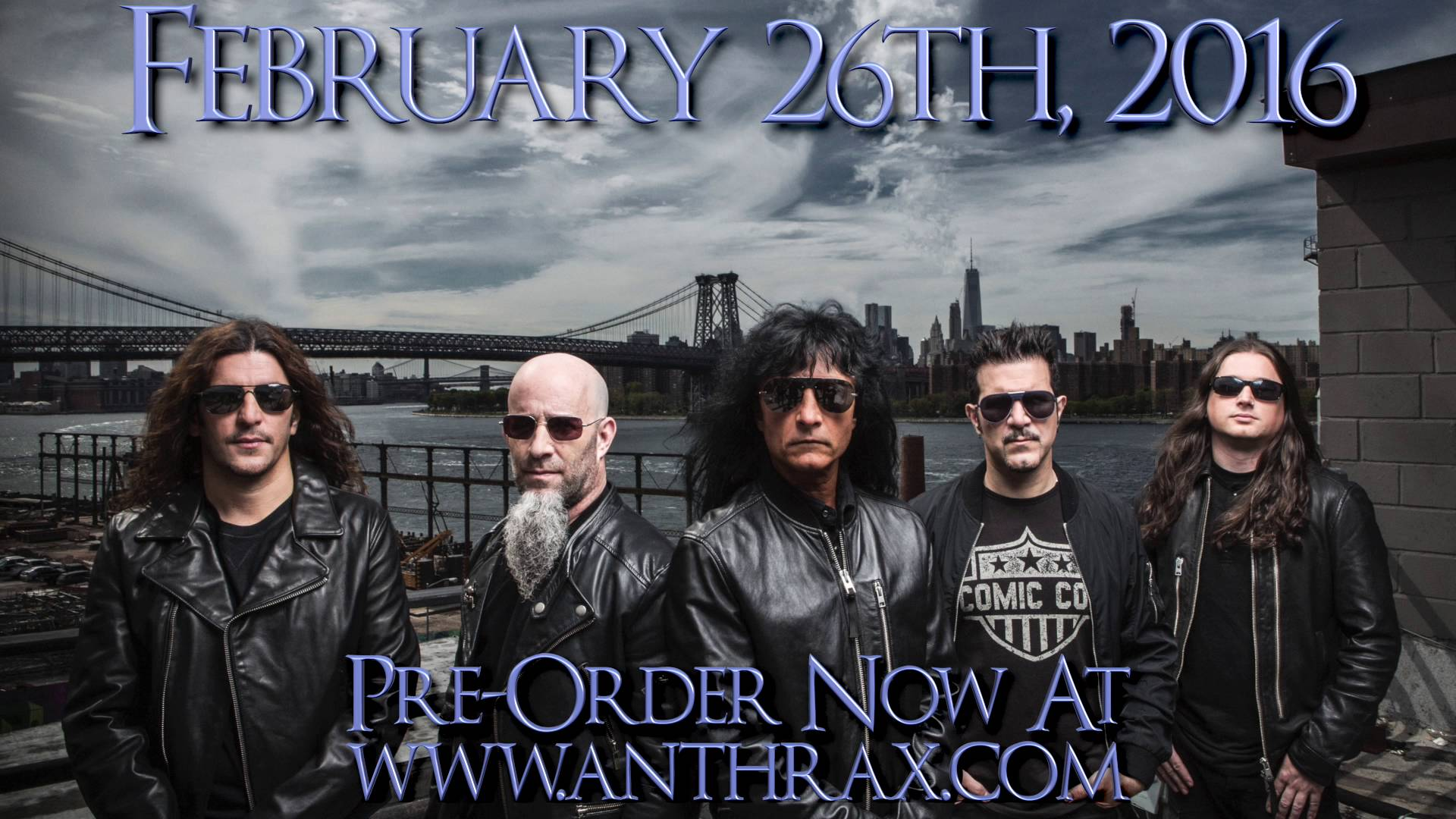Anthrax discusses the song-writing process for their forthcoming album