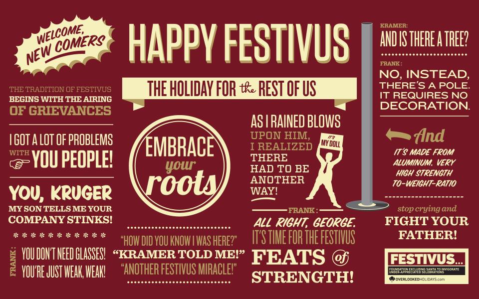 festivus - Best Christmas Pandora Station