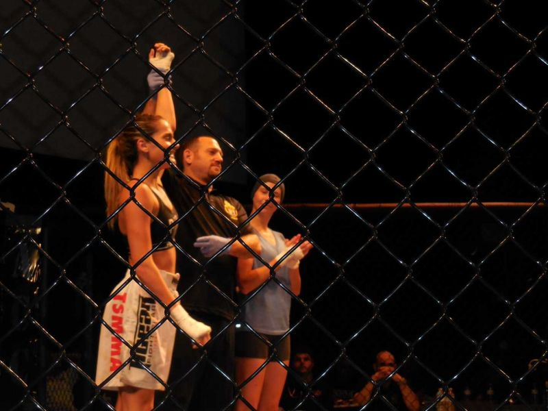 Melissa Balic beat Jamie Butcher at strawweight at ACC 12 in October