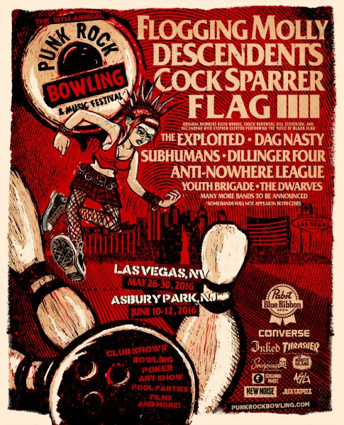 Punk Rock Bowling & Music Festival poster