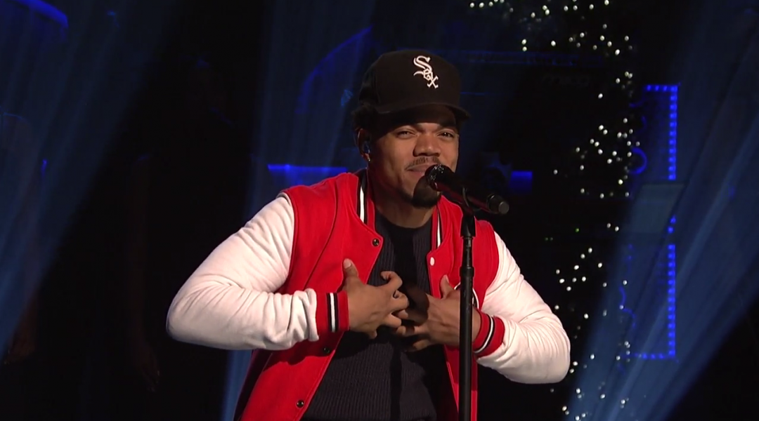 a63e4d139a3 Watch  Chance The Rapper debuts new song  Somewhere in Paradise  on ...