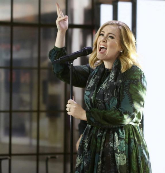 Adele is just a regular human, that is, if regular humans have amazing voices and personalities.