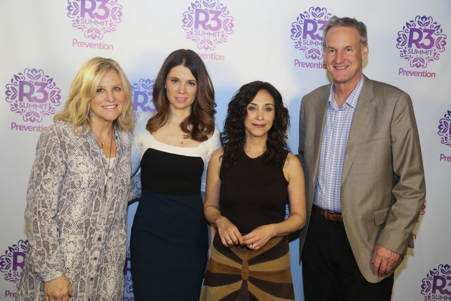 Lori Burgess, Naomi Whittel, Lauren Handel Zander and Bruce Kelley (left to right) at Prevention Magazine's 3rd annual R3 Summit at ACL