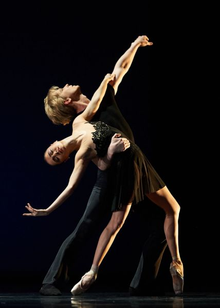 Mathilde Froustey and Tiit Helimets in Tomasson's '7 For Eight'